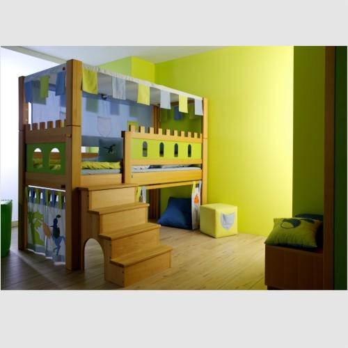 hochbett burg excellent herrliche ideen kinderbett. Black Bedroom Furniture Sets. Home Design Ideas