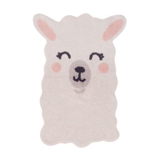 Teppich Smile Like a Llama